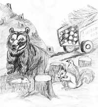 рисунок Фадеева Никиты, 12 лет